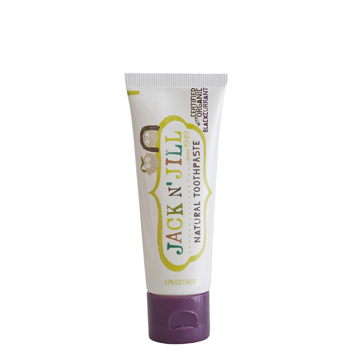 Jack N' Jill Natural Kids' Toothpaste - Blackcurrant - Natural Supply Co