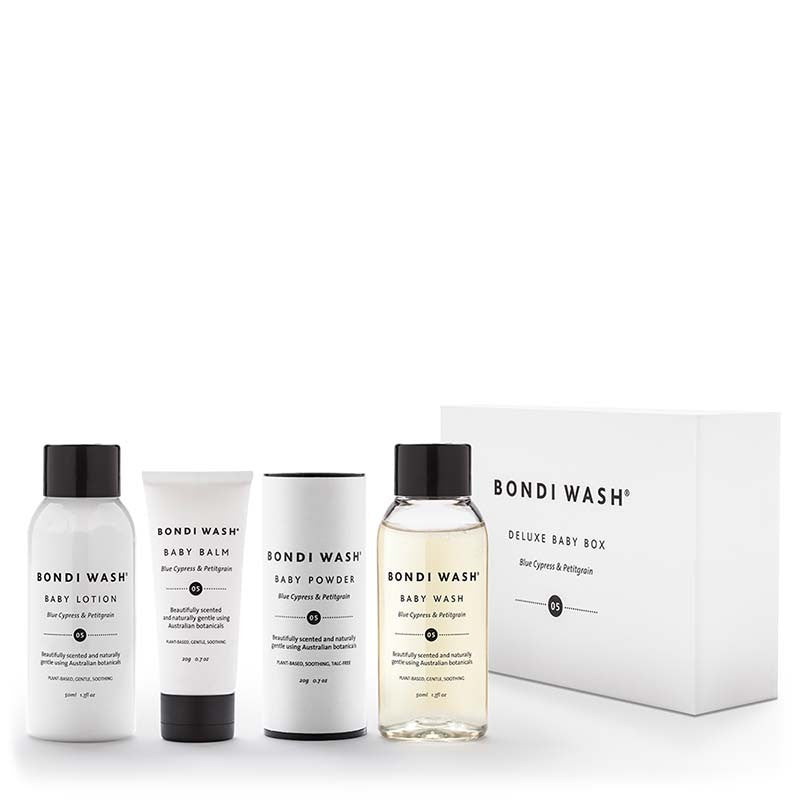 Bondi Wash Deluxe Baby Box at Natural Supply Co