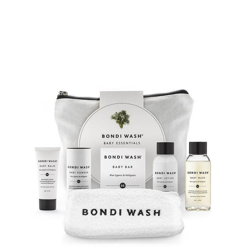 Bondi Wash Baby Essentials Gift Set online at Natural Supply Co