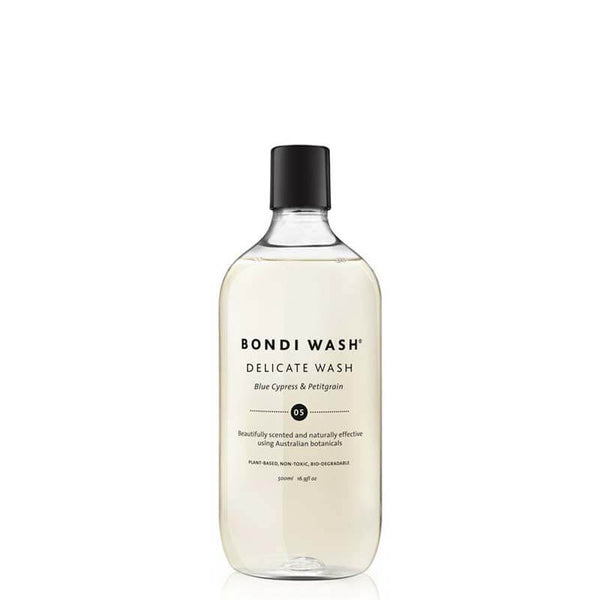 Bondi Wash Blue Cyprus & Petitgrain Delicate Wash online at Natural Supply Co