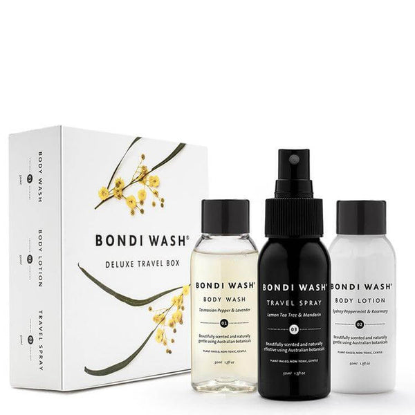 Bondi Wash Deluxe Travel Box online at Natural Supply Co