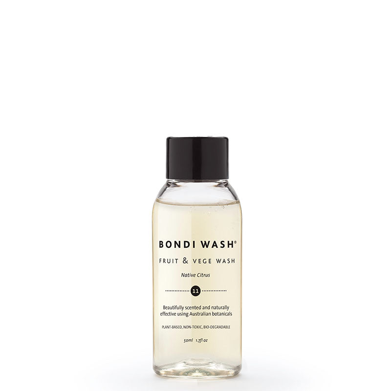 Bondi Wash Fruit & Vege Wash 50ml online at Natural Supply Co