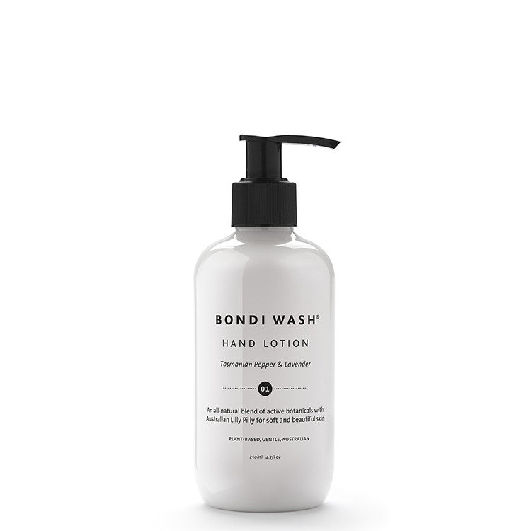 Bondi Wash Tasmanian Pepper & Lavender Hand Lotion 250ml - Natural Supply Co