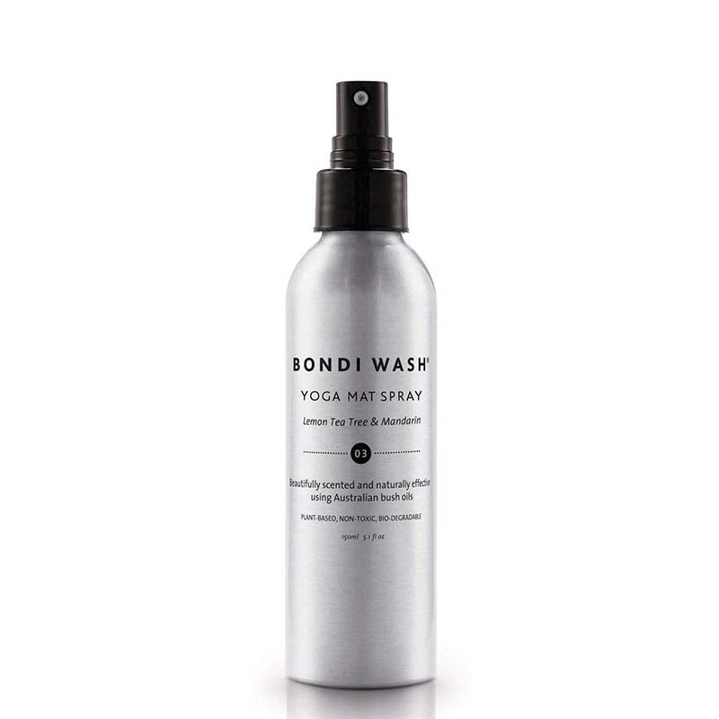Bondi Wash Yoga Mat Spray - Lemon Tea Tree & Mandarin - Natural Supply Co