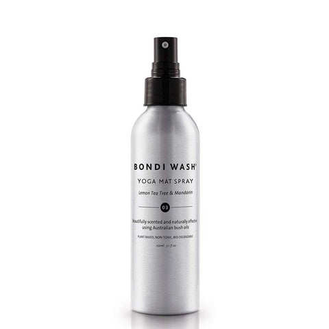 Bondi Wash Yoga Mat Spray - Lemon Tea Tree & Mandarin at Natural Supply Co