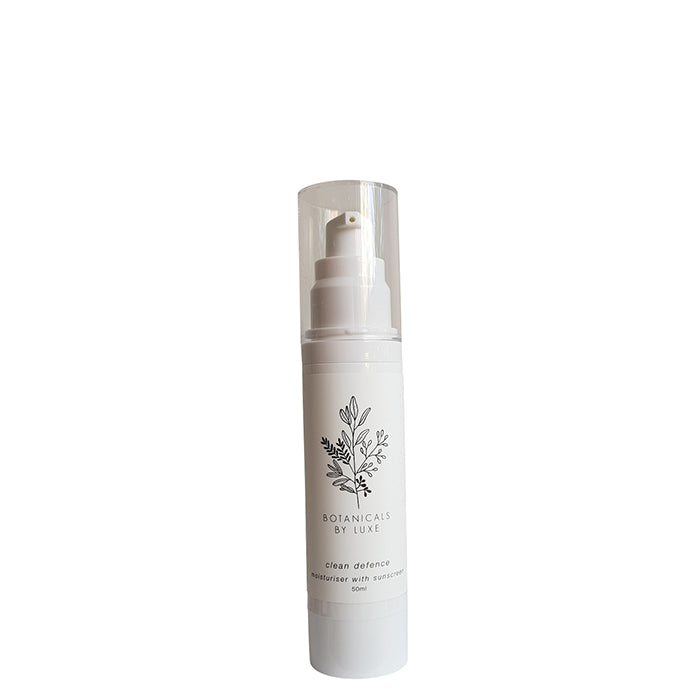 Botanicals by Luxe Clean Defence: Moisturiser with Sunscreen