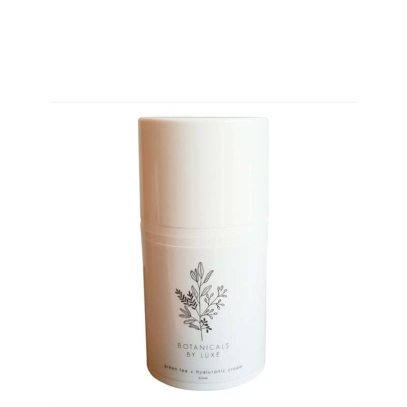 Botanicals by Luxe Green Tea + Hyaluronic Moisturising Cream - Natural Supply Co