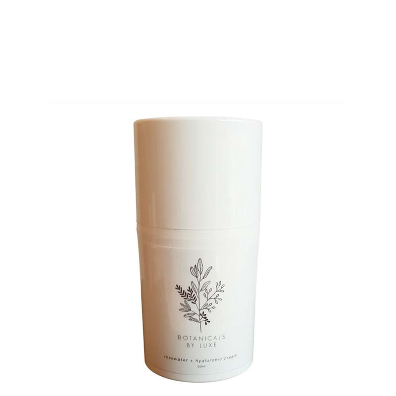 Botanicals by Luxe Rosewater + Hyaluronic Moisturising Cream online at Natural Supply Co