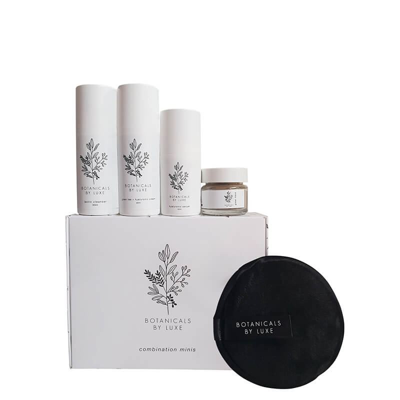 Botanicals by Luxe Travel Pack - for combination skin