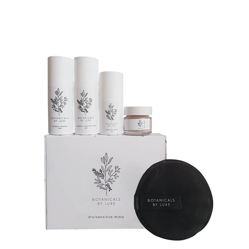 Botanicals by Luxe Travel Pack - for dry/sensitive skin
