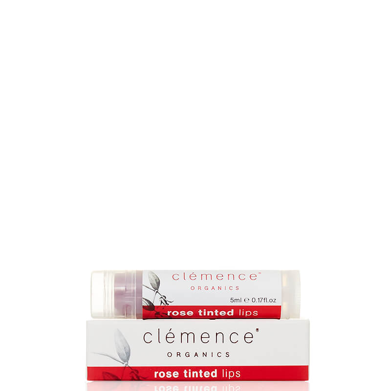 Clemence Organics Rose Tinted Lips - Natural Supply Co