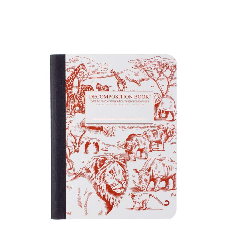 Decomposition Book Large Notebook - African Safari