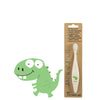 Jack N' Jill Natural Kids' Toothbrush - Dino at Natural Supply Co