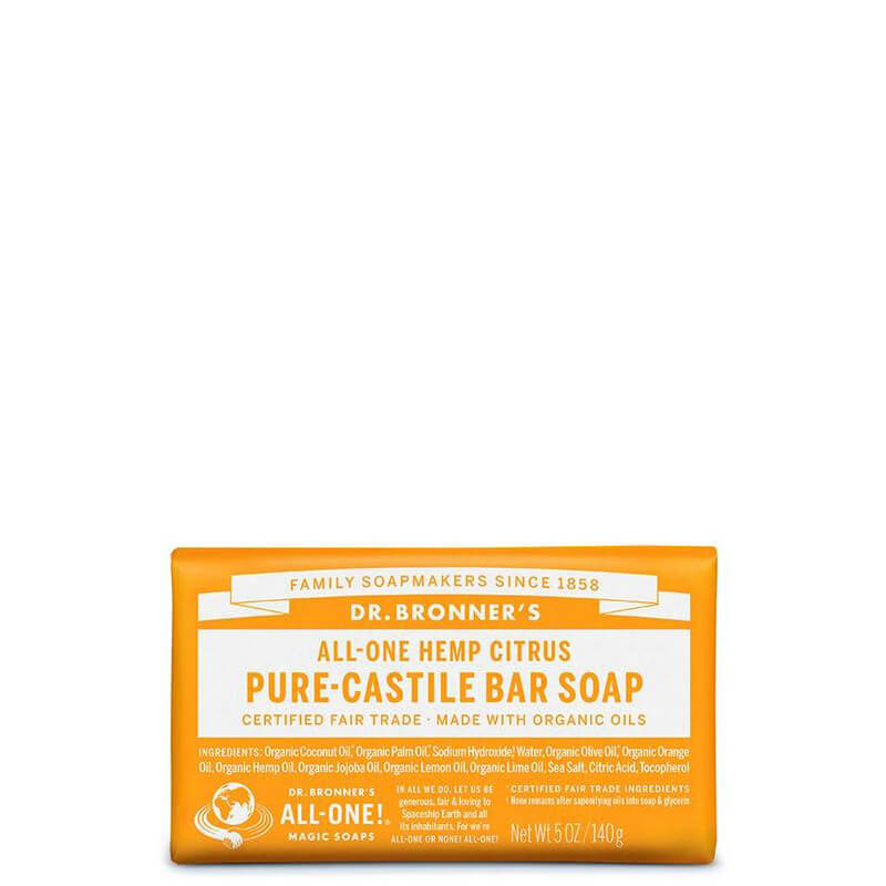 Dr Bronner's Magic Pure-Castile Bar Soap - Citrus