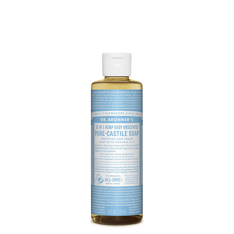 Dr Bronner's Pure-Castile Liquid Soap - Baby Unscented