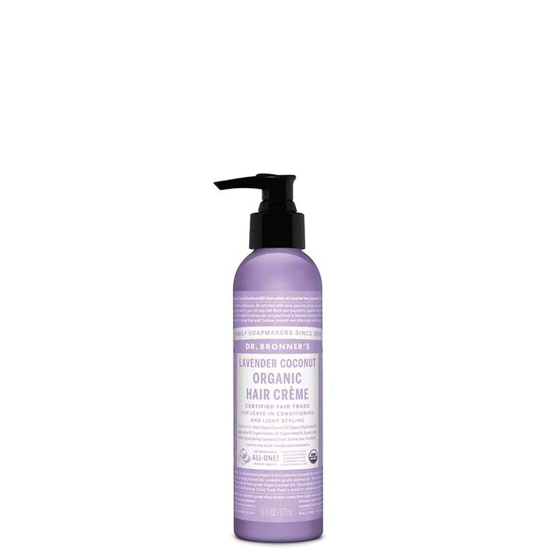 Dr Bronner's Organic Hair Crème - Lavender - Natural Supply Co