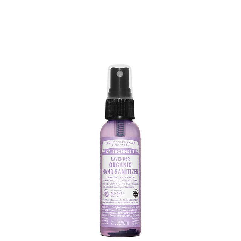 Dr Bronner's Lavender Organic Hand Sanitizer at Natural Supply Co
