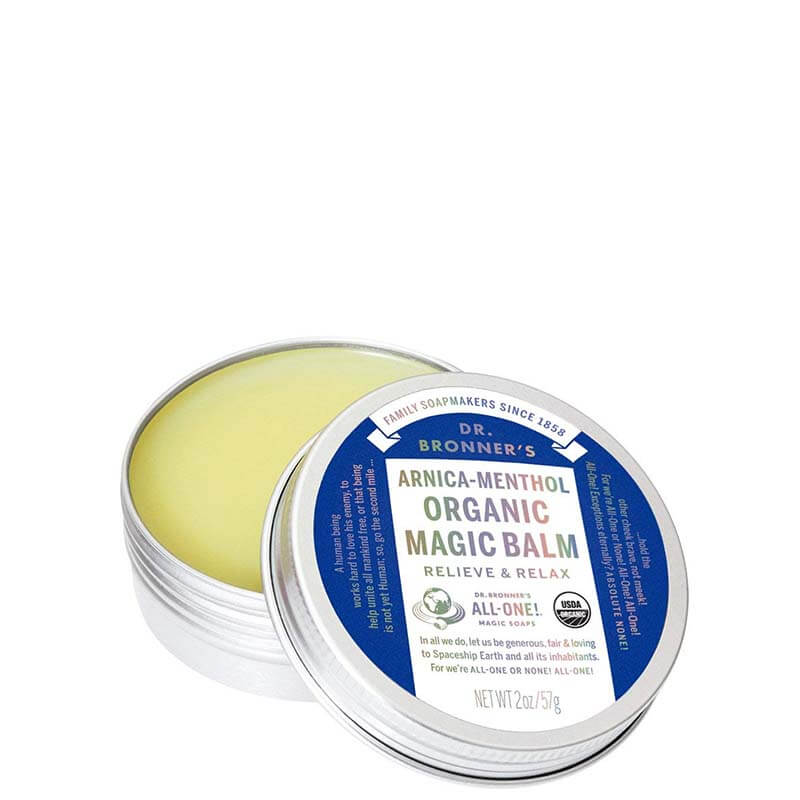 Dr Bronner's Organic Magic Balm - Arnica-Menthol online at Natural Supply Co