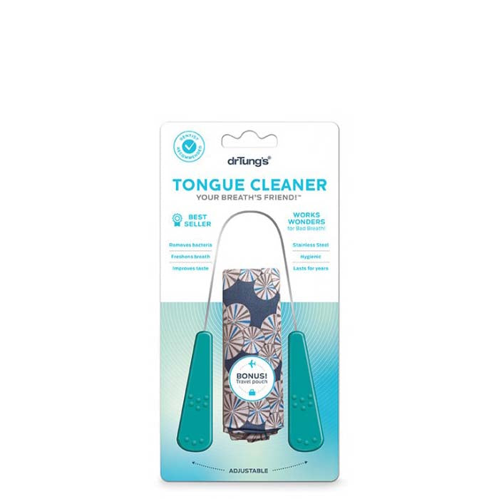 Dr Tung's Stainless Steel Tongue Cleaner - Natural Supply Co