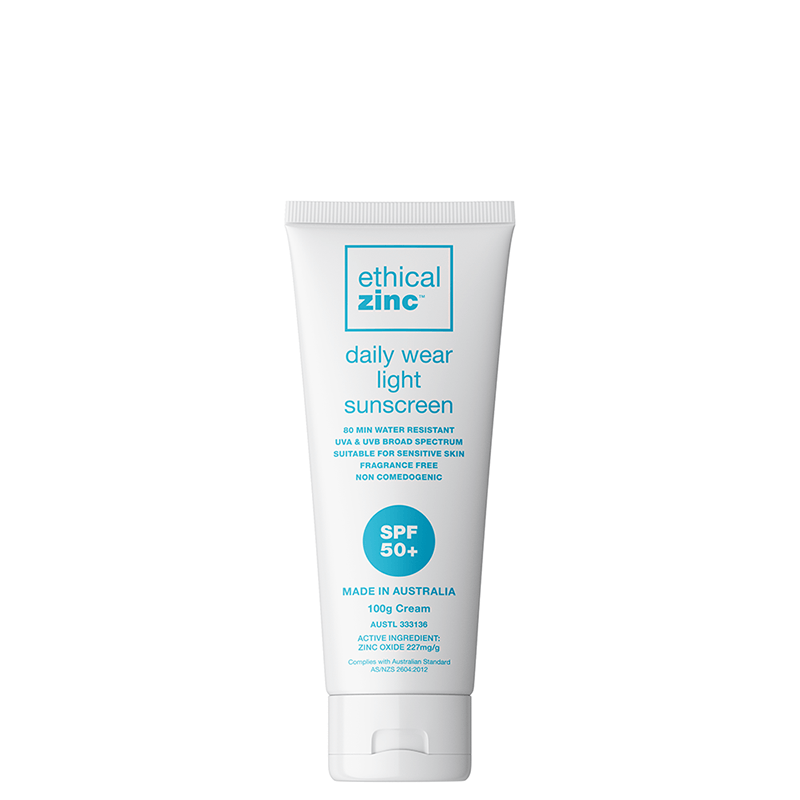 Ethical Zinc SPF50+ Daily Wear Light Sunscreen
