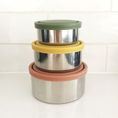 Ever Eco Round Nesting Containers Autumn