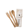 Ever Eco Bamboo Cutlery Set at Natural Supply Co