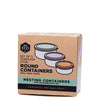 Ever Eco Round Nesting Containers - set of 3 at Natural Supply Co