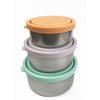 Ever Eco Round Nesting Containers - set of 3 - Natural Supply Co