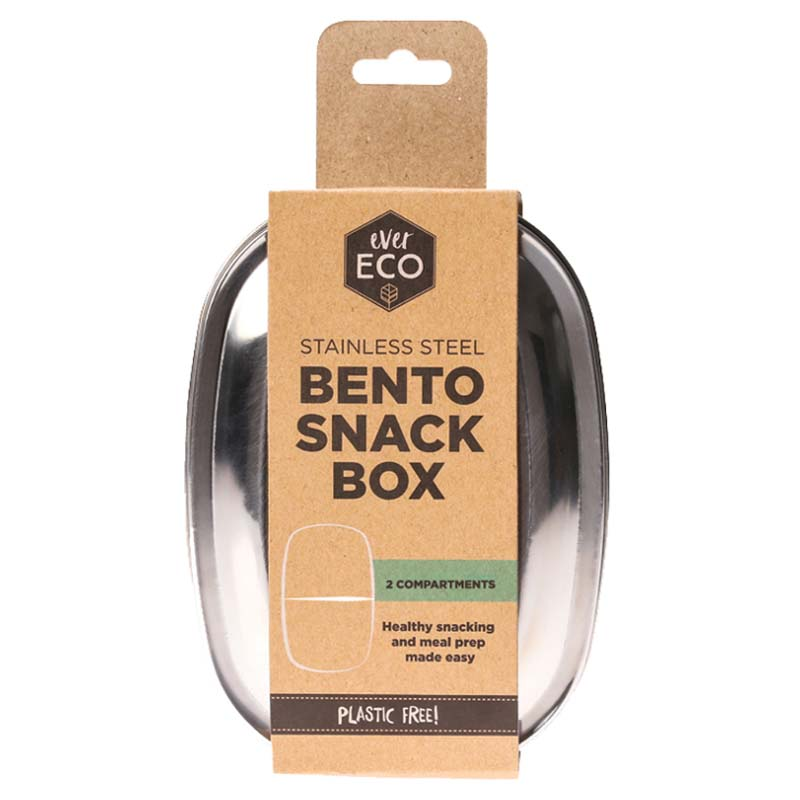 Ever Eco Stainless Steel Bento Box - 2 compartment at Natural Supply Co