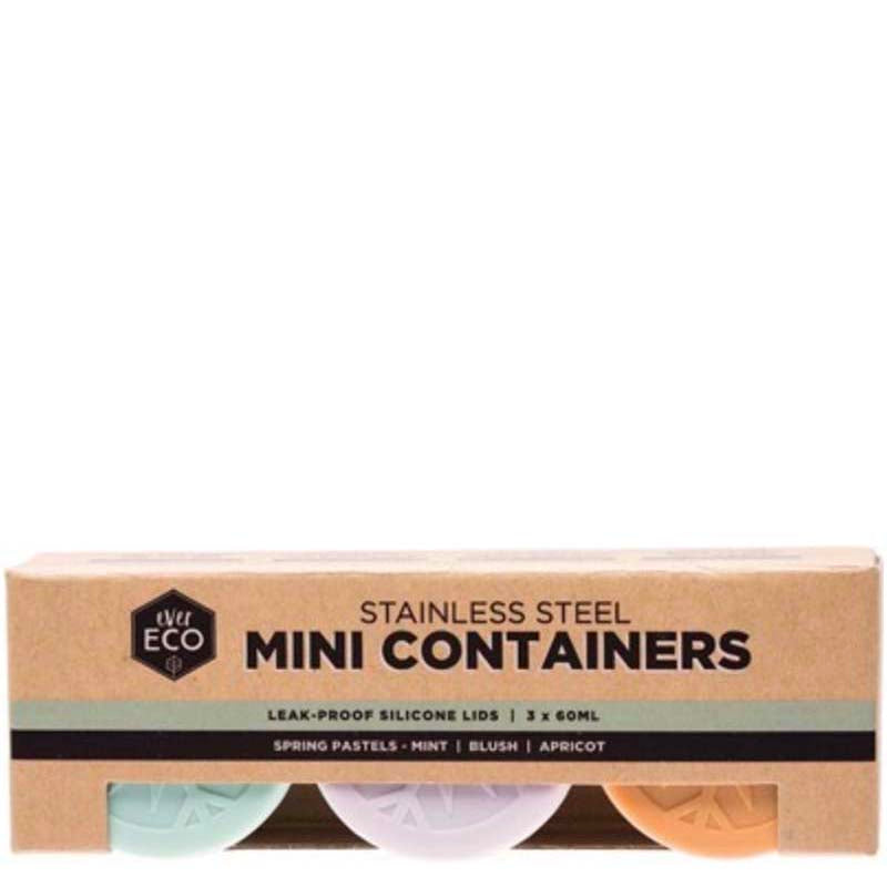Ever Eco Stainless Steel Mini Containers - set of 3 online Australia