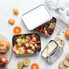 Ever Eco XL Stackable Stainless Steel Bento Box - 2 Tier + Mini Container - Natural Supply Co