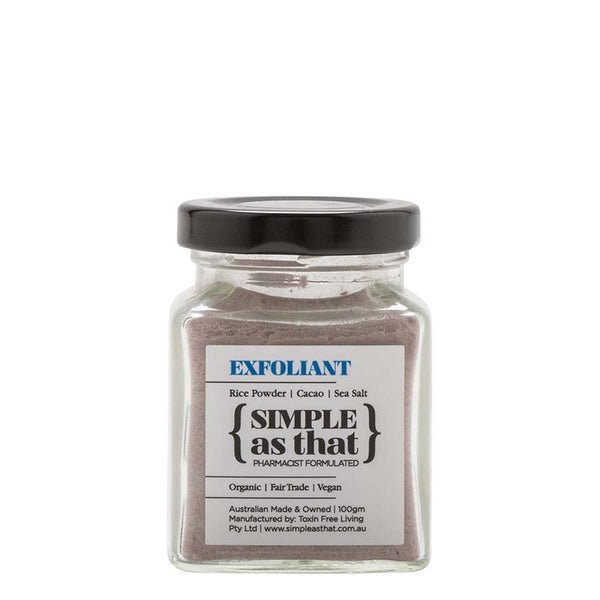 {SIMPLE as that} Exfoliant at Natural Supply Co