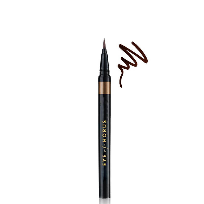 Eye of Horus Liquid Define Eye Liner - Babylon Brown online at Natural Supply Co