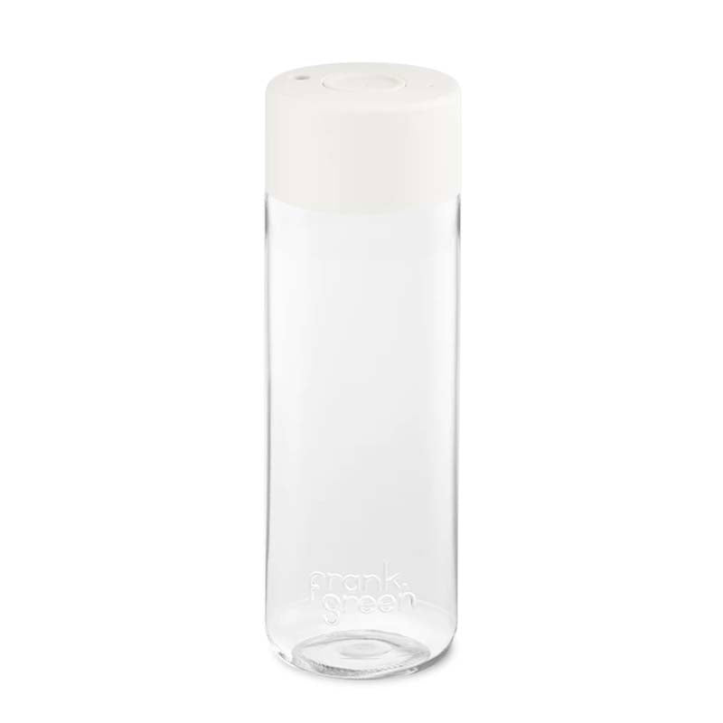 Frank Green Water Bottle - Cloud White
