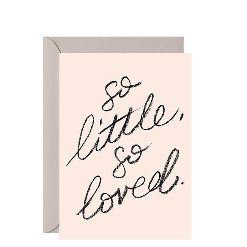 Galina Dixon Card - So Little, So Loved - Natural Supply Co