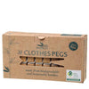 Go Bamboo Clothes Pegs - Natural Supply Co