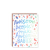 Hello!Lucky Awesome Babies Card