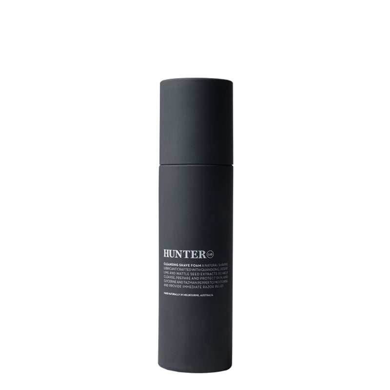 Hunter Lab Cleansing Shave Foam - Natural Supply Co