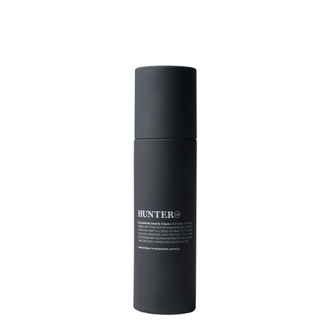 Hunter Lab Cleansing Shave Foam at Natural Supply Co