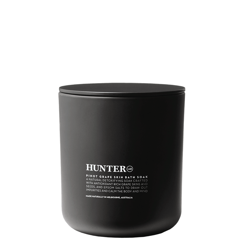 Hunter Lab Pinot Grape Skin Bath Soak online at Natural Supply Co