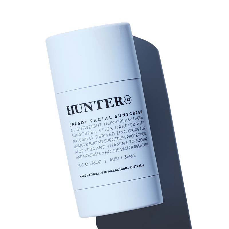 Hunter Lab SPF50+ Facial Sunscreen - Natural Supply Co