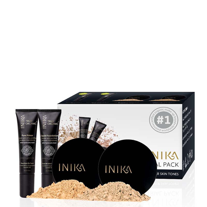 INIKA Trial Pack - Medium/Dark - Natural Supply Co
