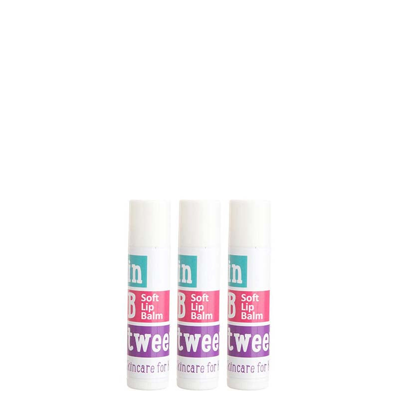 In Btween B Soft Lip Balm Trio
