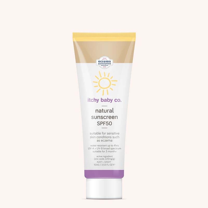 Itchy Baby Co Natural Sunscreen SPF50