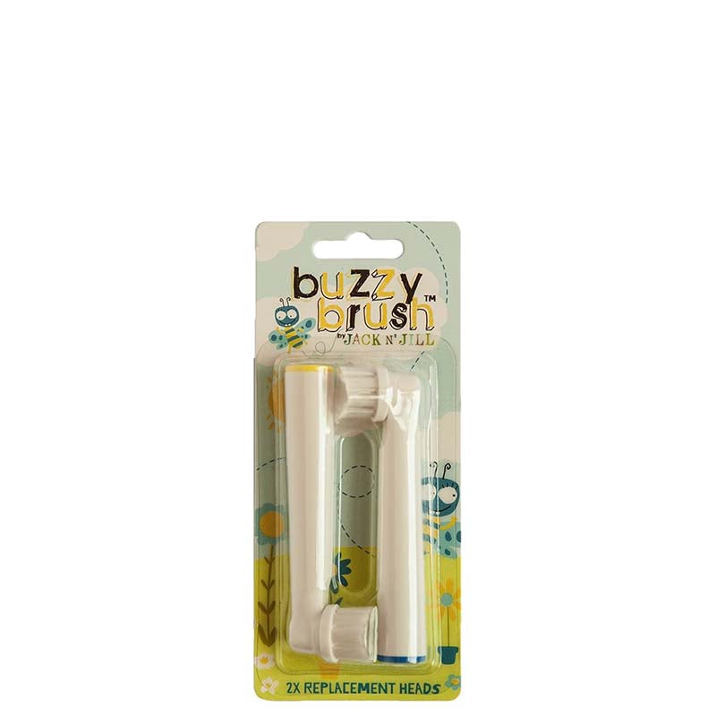 Jack N' Jill Electric Musical Toothbrush Brush Head Replacements