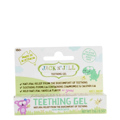 Jack & Jill Natural Teething Gel online at Natural Supply Co
