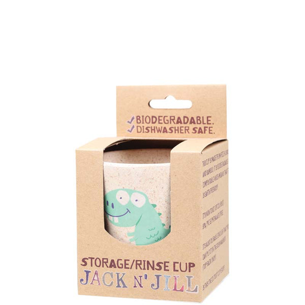 Jack & Jill Storage/Rinse Cup - Dino at Natural Supply Co