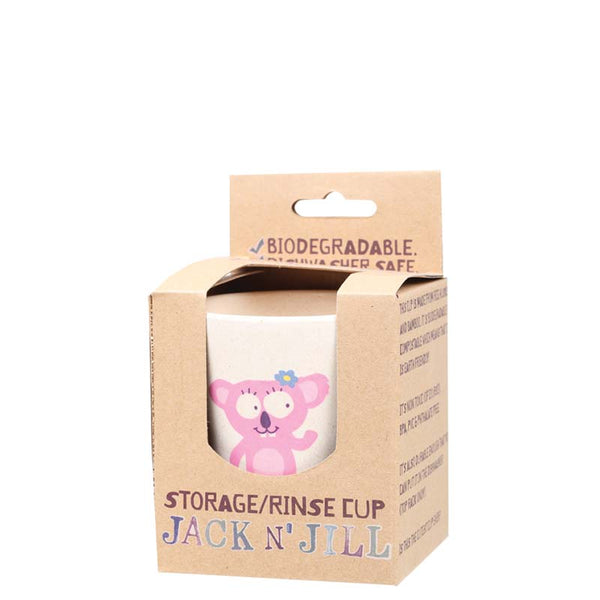 Jack & Jill Storage/Rinse Cup - Koala at Natural Supply Co
