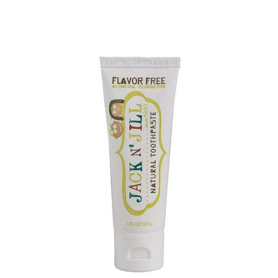 Jack N' Jill Natural Kids' Toothpaste - Flavour Free at Natural Supply Co