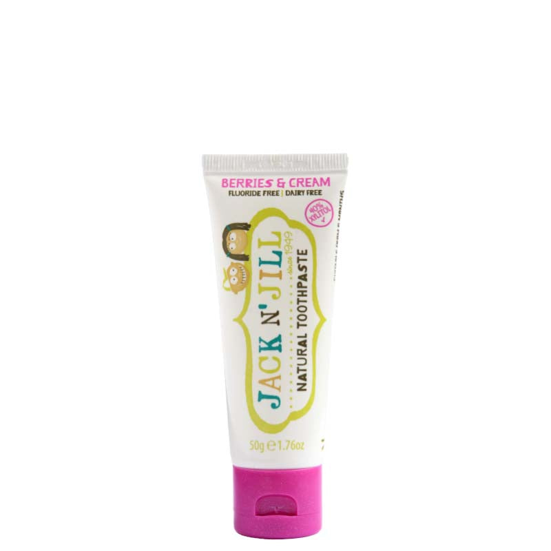 Jack N' Jill Natural Kids' Toothpaste - Berries & Cream